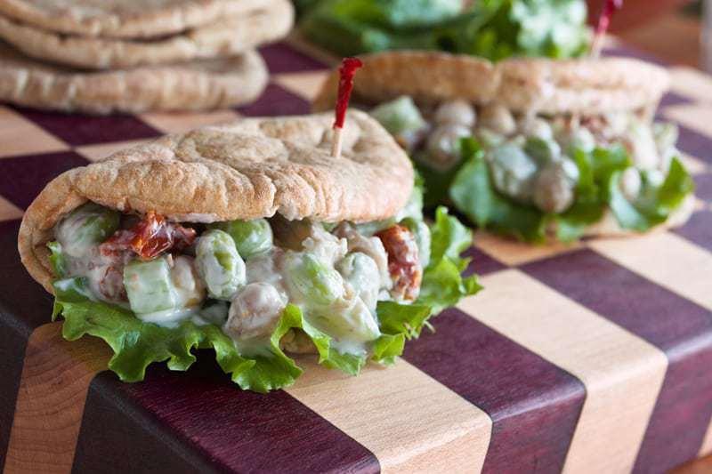 Edamame Salad Wrap