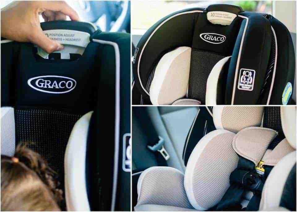 Graco Rear Facing Car Seat Collage 1 copy