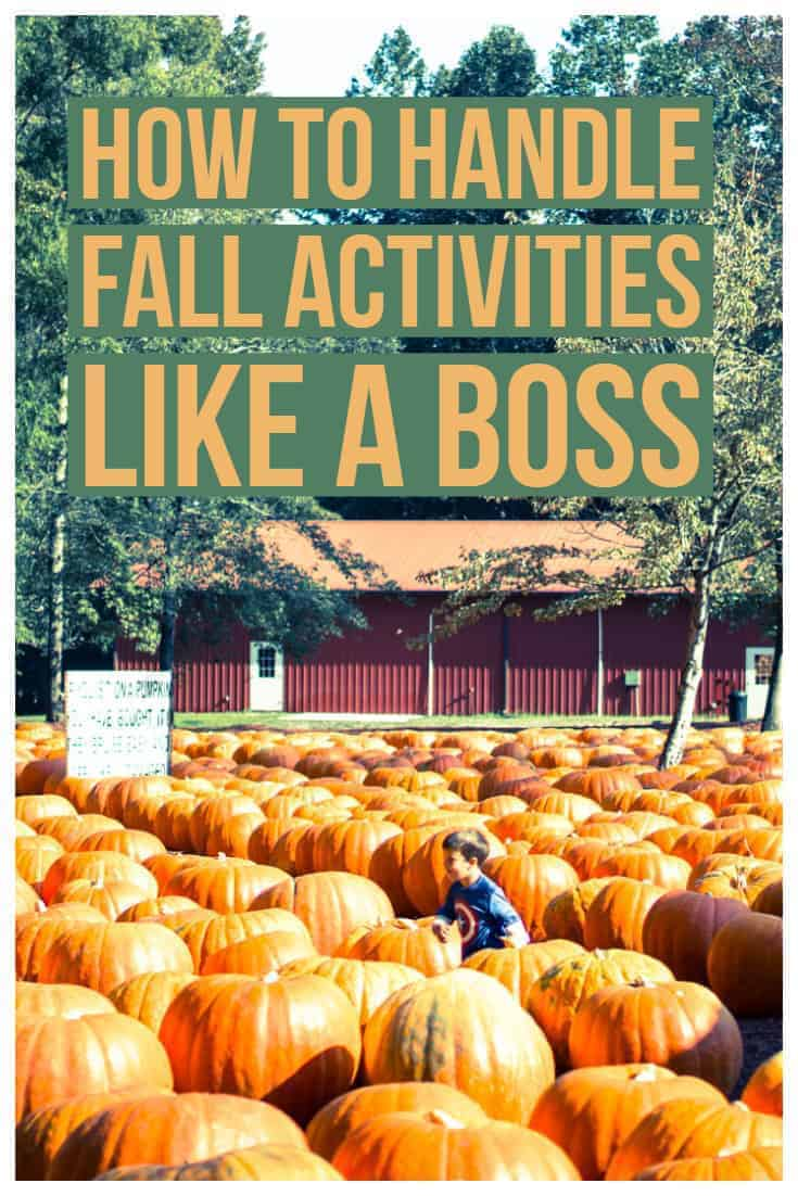 How to handle fall like a boss