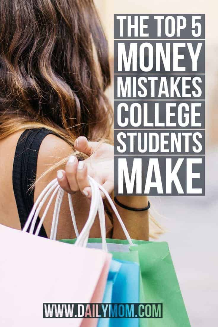 The Top 5 Money Mistakes College Students Make