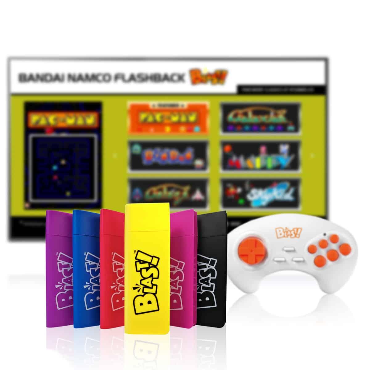 Blast with Bandai Namco menu