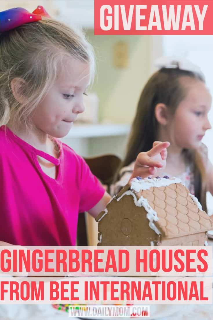 Giveaway Gingerbread Houses