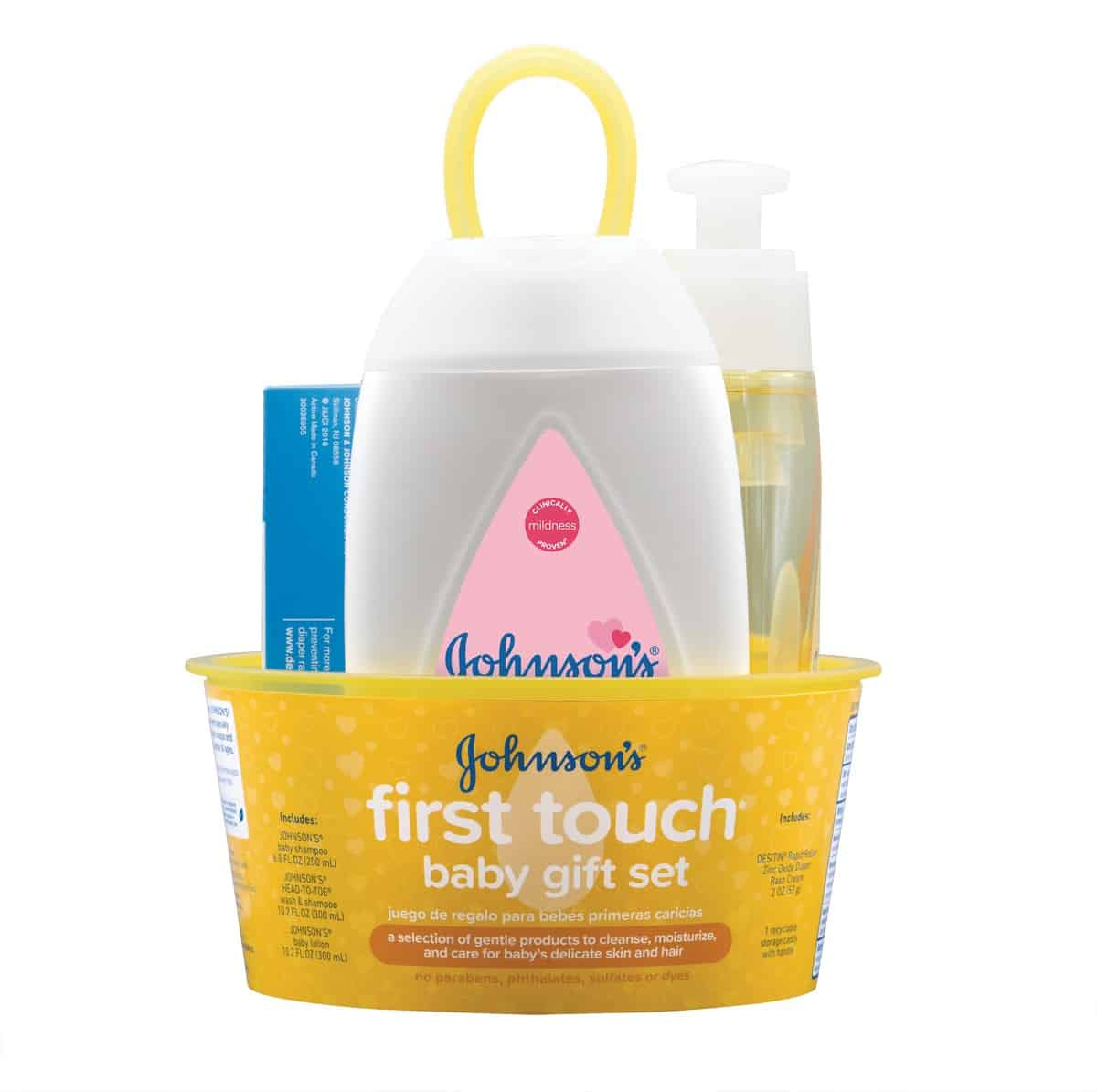 Johnsons First Touch Baby Gift Set  Daily mom parents portal Gifts for Parents and Kids to Enjoy