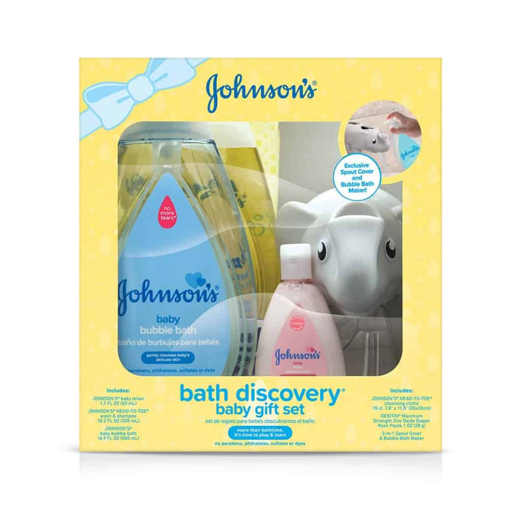 johnsons bath discovery baby gift set front  Daily mom parents portal Gifts for Parents and Kids to Enjoy