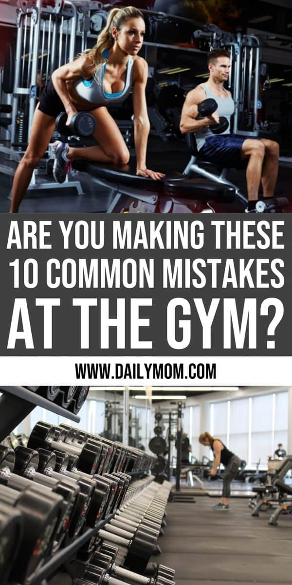10 mistakes at the gym 1