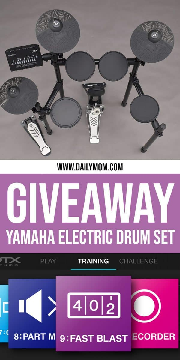 Yamaha Drum Kit Giveaway