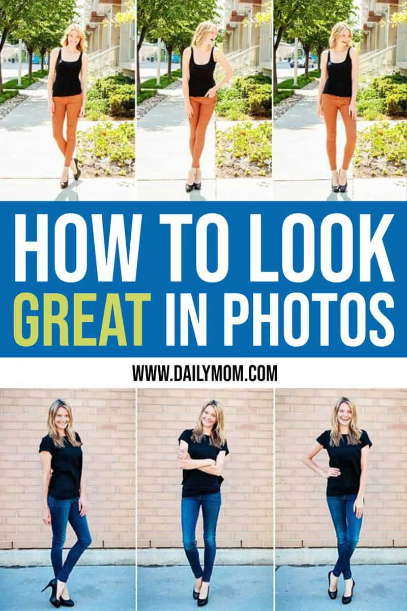 How To Pose In Pictures To Look Great