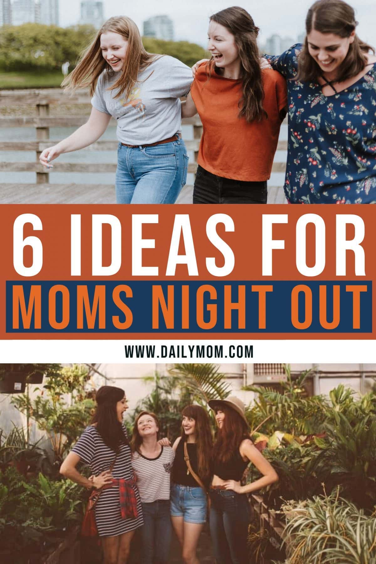 Moms Night Out Ideas Pin