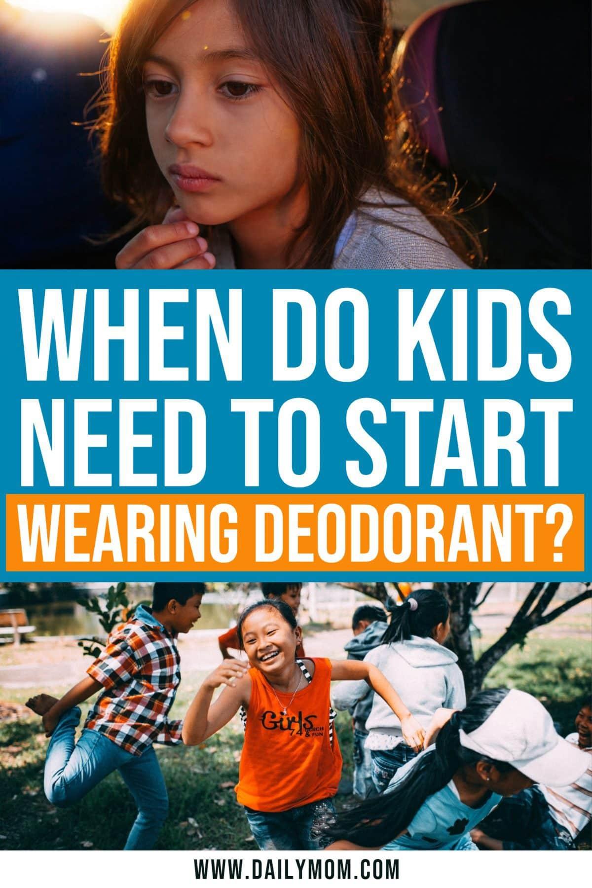 Kids And Deodorant