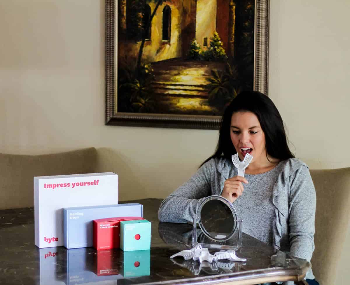 At Home Teeth Straightening With Byte