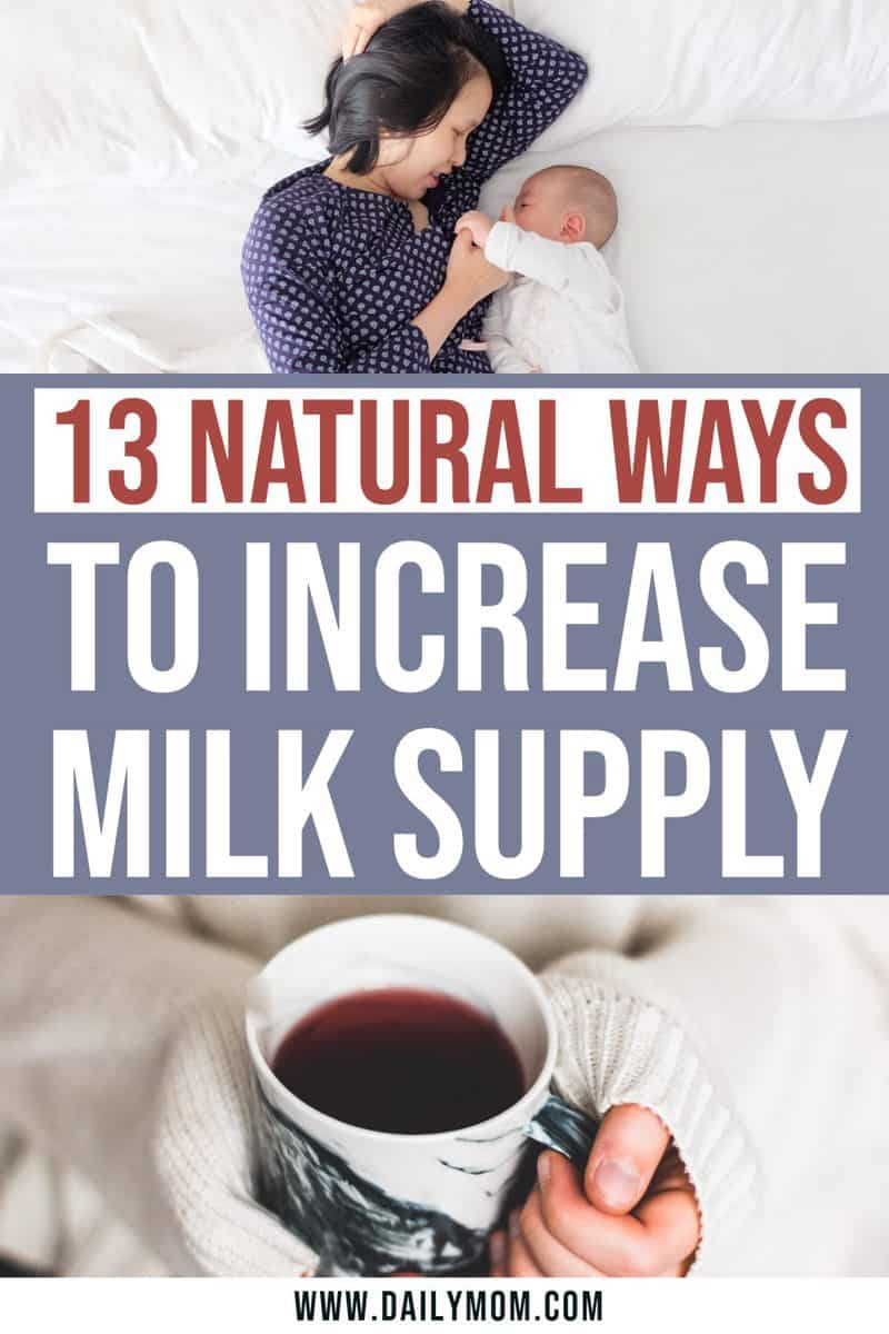Natural Ways To Increase Milk Supply