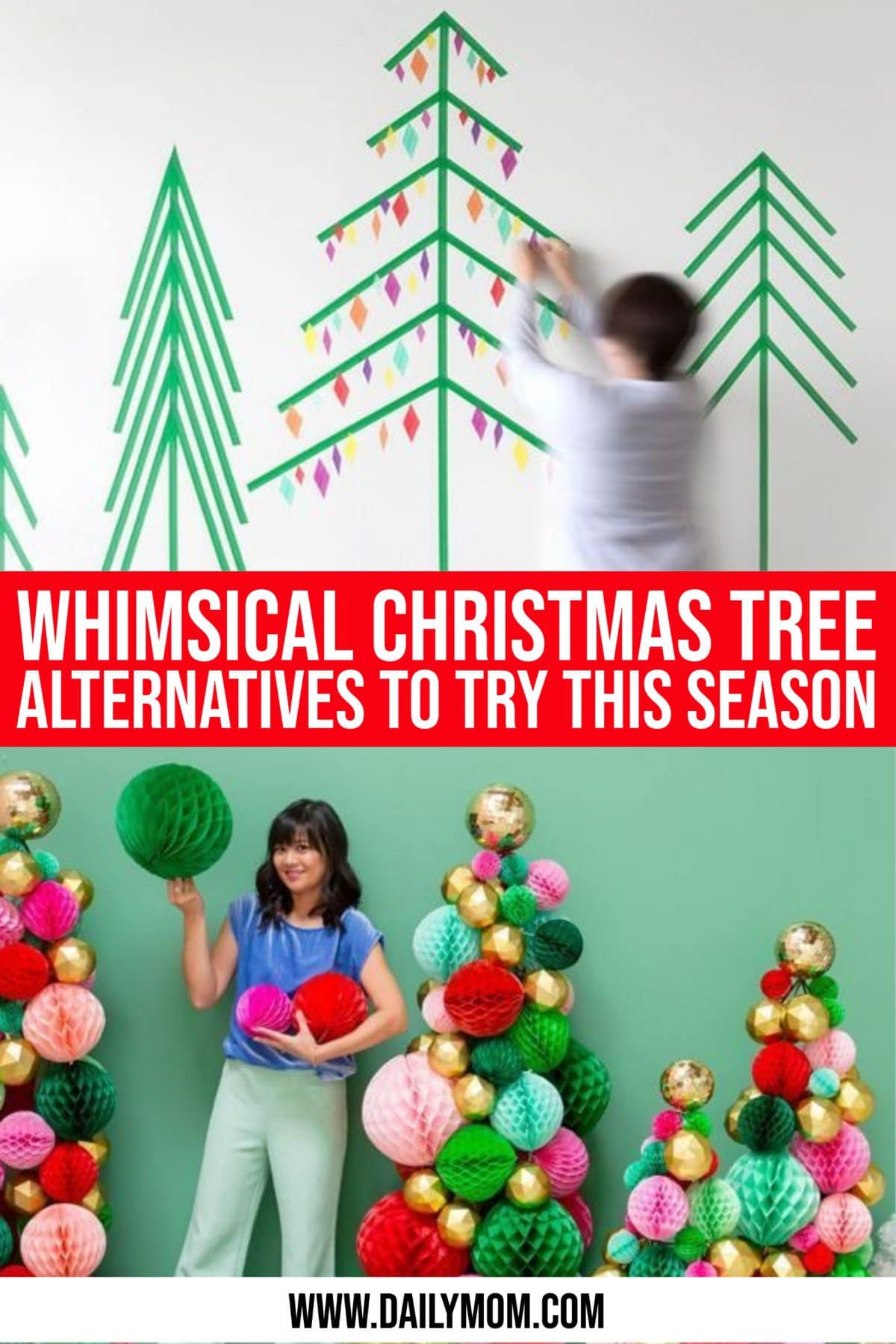 11 Whimsical Christmas Tree Alternatives To Try This Season