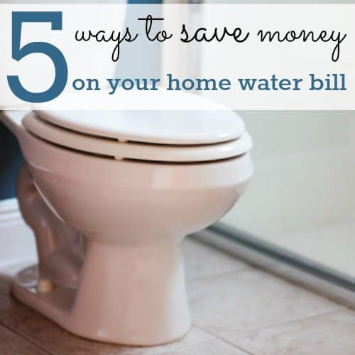 5 Ways to save on your water bill {by spending less than $20} 1 Daily Mom Parents Portal