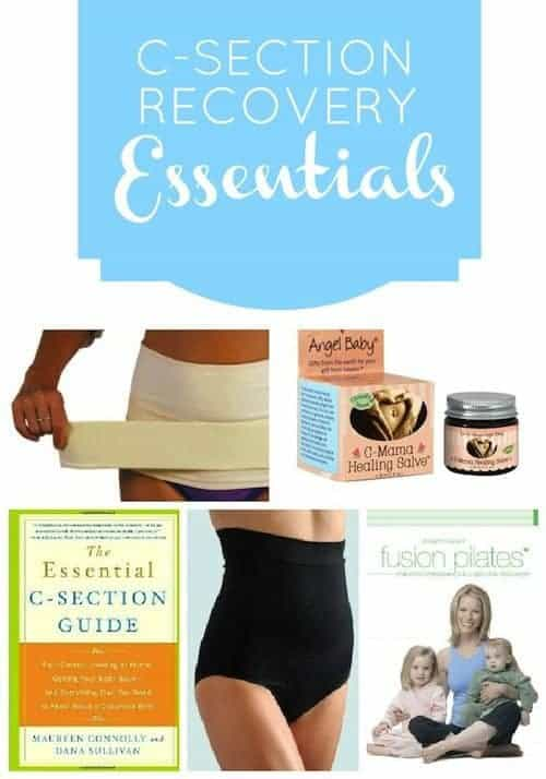 C-section: Recovery Essentials