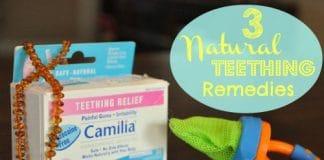 3 Natural Teething Remedies