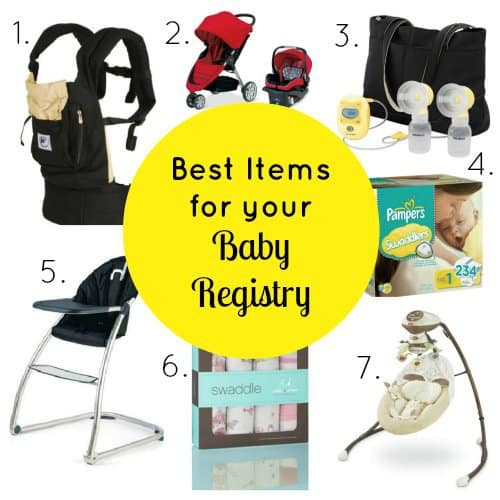 Best Items For Your Baby Registry 1 Daily Mom Parents Portal