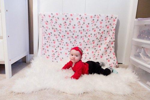 Easy DIY Baby Photo Setup 4 Daily Mom Parents Portal
