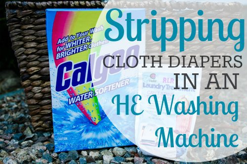 Stripping Cloth Diapers in an HE Washer 1 Daily Mom Parents Portal
