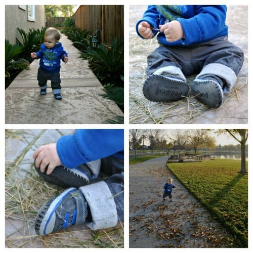 Baby's First Shoes: Pediped 4 Daily Mom Parents Portal