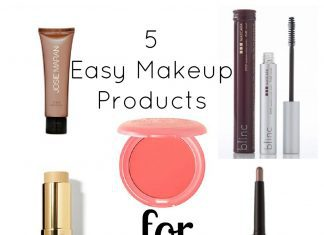5 Easy Makeup Products For Moms
