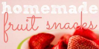 Toddler Eating: Homemade Fruit Snacks
