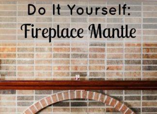 Diy: Fireplace Mantle