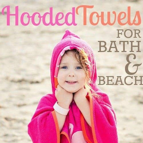 Hooded Towels For Bath And Beach