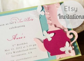 Etsy Invitations For Every Occasion
