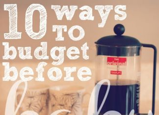 10 Ways To Budget Before Baby