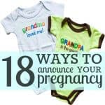 I'm Pregnant! 18 Ways To Tell Your Husband & Family