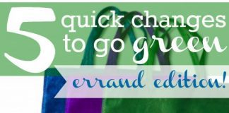 "5 Ways To ""go Green"" Without Changing Your Lifestyle: Errand Edition"