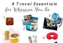 8 Travel Bag Essentials To Take Wherever You Go