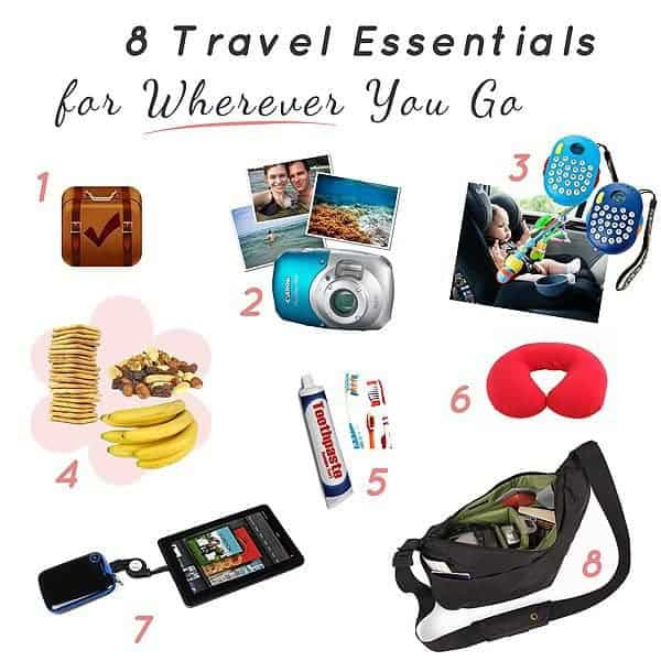 8 Travel Bag Essentials To Take Wherever You Go