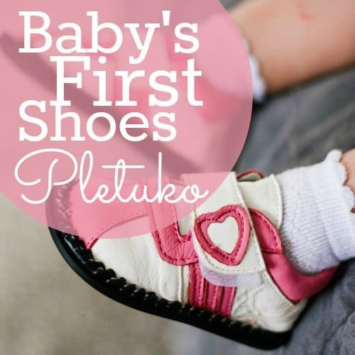Baby's First Shoes: Pletuko 1 Daily Mom Parents Portal