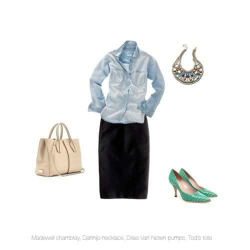 How to Wear: Chambray 2 Daily Mom Parents Portal