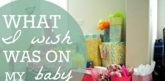 What I Wish Was On My Baby Registry