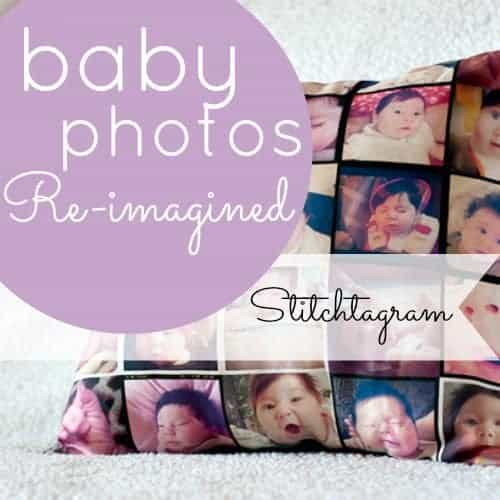 Stitchtagram: Your Baby's Photo On A Pillow