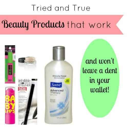 Cheap Beauty Products That Work