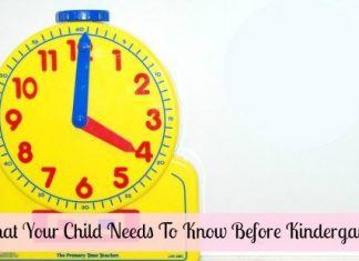 What Teachers Want Your Child To Know Before Kindergarten