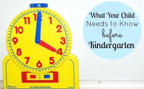 What Teachers Want Your Child to Know Before Kindergarten 1 Daily Mom Parents Portal