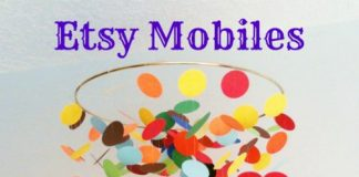 Etsy Mobiles For The Classic Or Modern Nursery