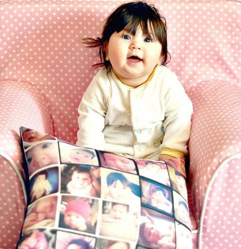 Stitchtagram: Your Baby's Photo on a Pillow 2 Daily Mom Parents Portal