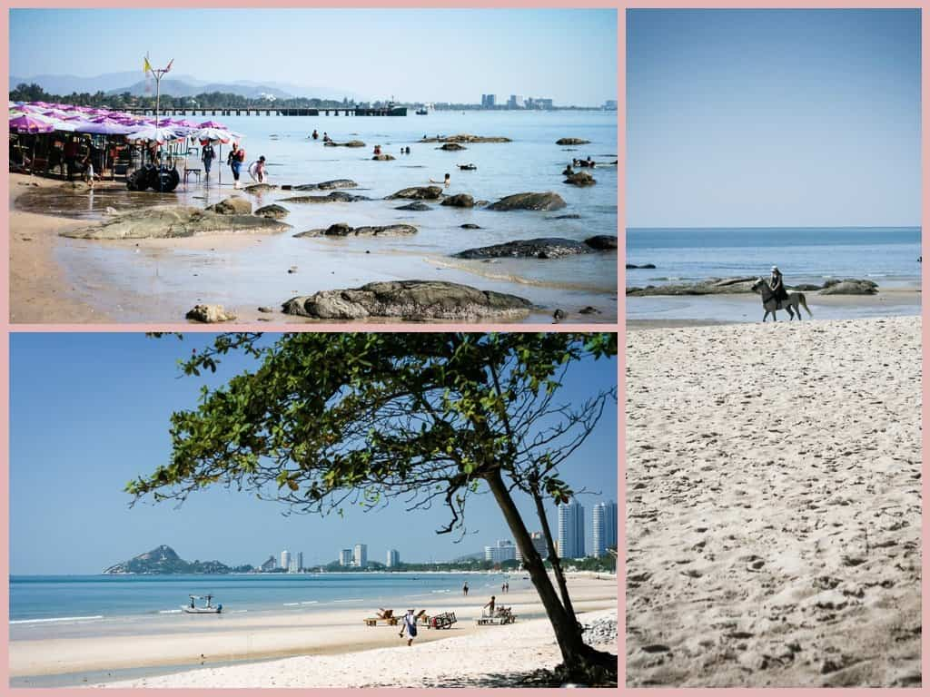 The beach town of Hua Hin, Thailand