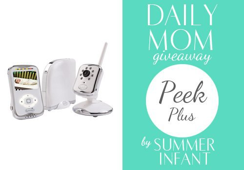 Day 16: Summer Infant Peek Plus Monitor 1 Daily Mom Parents Portal