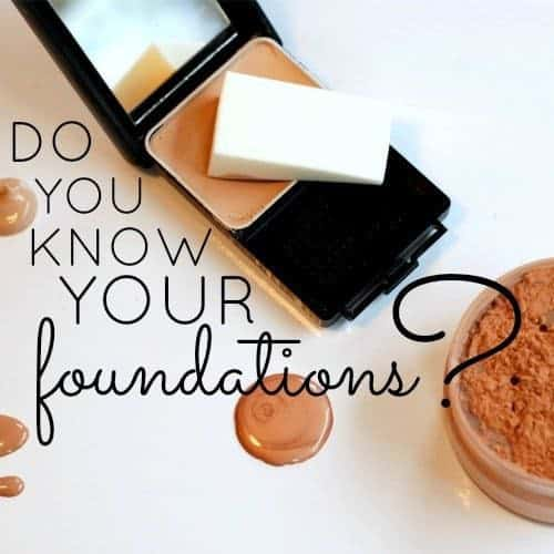 Do You Know Your Foundations 1