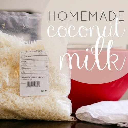 Homemade Coconut Milk 1 Daily Mom Parents Portal