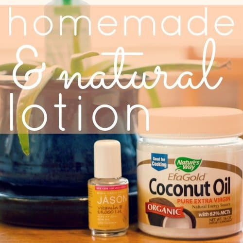 Handmade & Natural Coconut Oil Lotion 1 Daily Mom Parents Portal