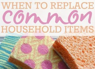 When To Replace Common Household Items
