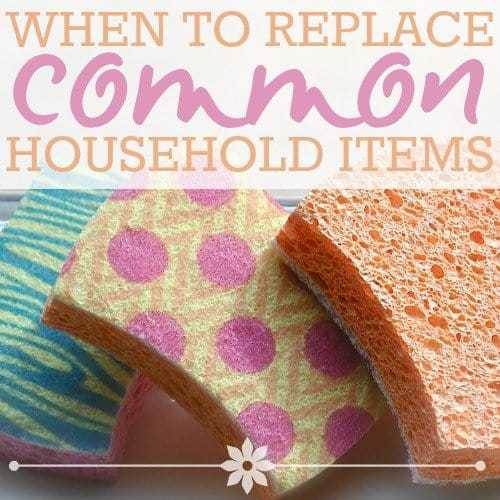 Home Items: When To Replace Common Household Items » Read Now