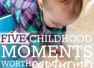 5 Childhood Moments Worth Capturing